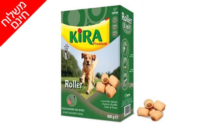 5 חבילות ביסקוויט קירה לכלב - משלוח חינם!