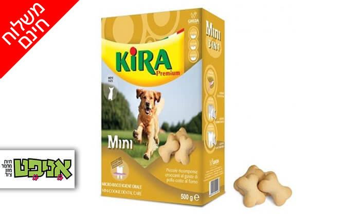 2 חבילות ביסקוויט קירה לכלב - משלוח חינם!