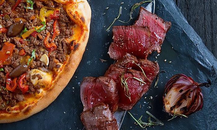 3 ארוחה זוגית במסעדת לחם בשר הכשרה בטיילת נתניה