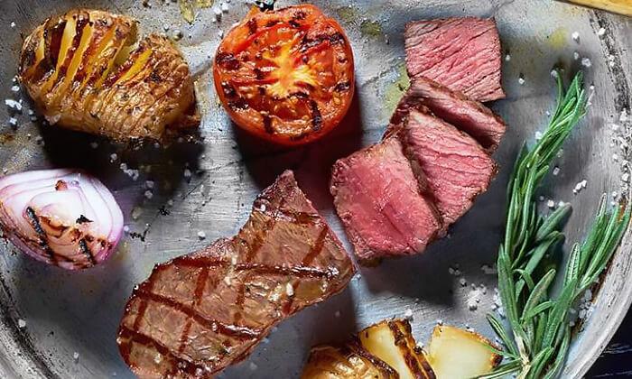 4 ארוחה זוגית במסעדת לחם בשר הכשרה בטיילת נתניה