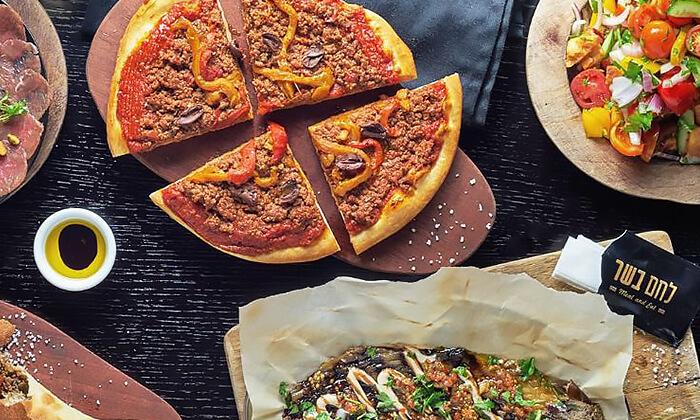 6 ארוחה זוגית במסעדת לחם בשר הכשרה בטיילת נתניה