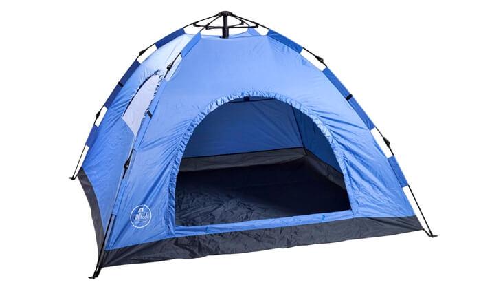 2 אוהל נפתח ברגע ל-4 אנשים CAMP&GO