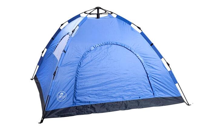 3 אוהל נפתח ברגע ל-4 אנשים CAMP&GO