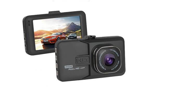 10 מצלמת רכב דו כיוונית
