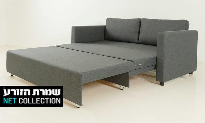 2 שמרת הזורע: ספה נפתחת למיטה בשני גדלים לבחירה