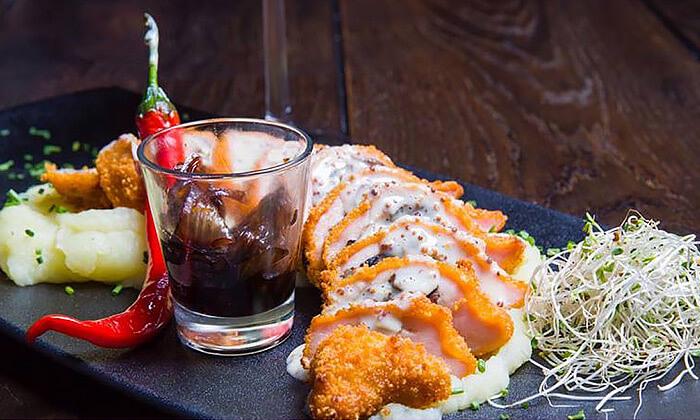 5 ארוחה בשרית זוגית במסעדת נורדאו 24 הכשרה, אשדוד