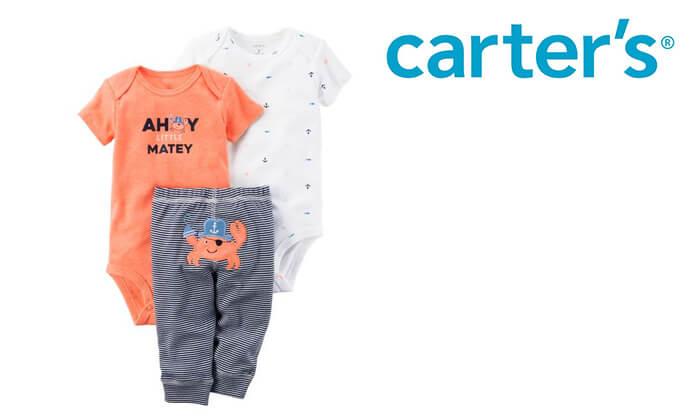 2 סט בגדים לתינוק Carter's