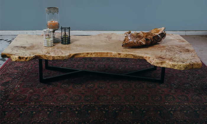 3 שולחן סלון עץ