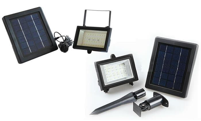 4 פרוז'קטור סולארי ללא צורך בחשמל