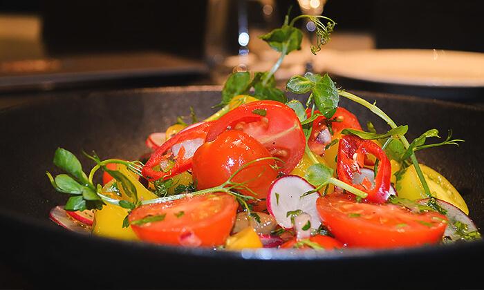 8 ארוחה זוגית במסעדת אנדיב, מלון ווסט בוטיק אשדוד