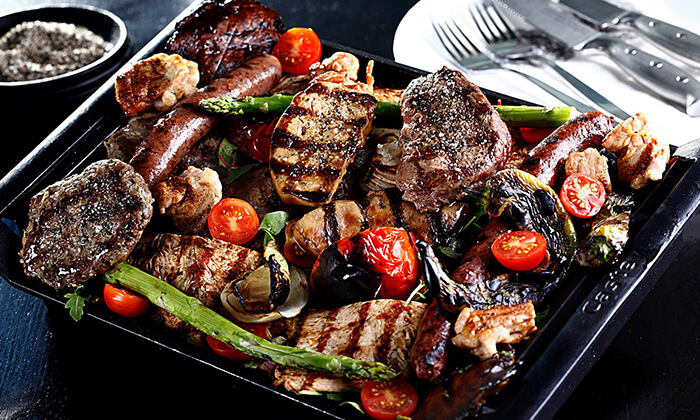7 ארוחת סטייק זוגית במסעדת שיפודי ציפורה הכשרה, כפר סבא