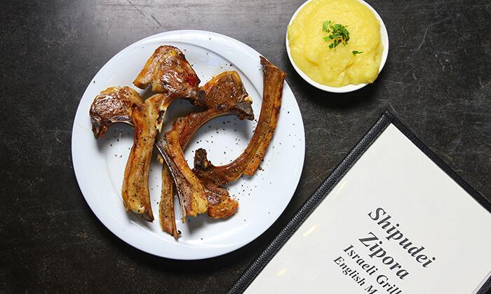 11 ארוחת סטייק זוגית במסעדת שיפודי ציפורה הכשרה, כפר סבא