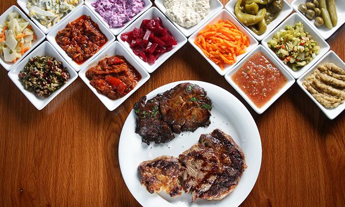 13 ארוחת סטייק זוגית במסעדת שיפודי ציפורה הכשרה, כפר סבא