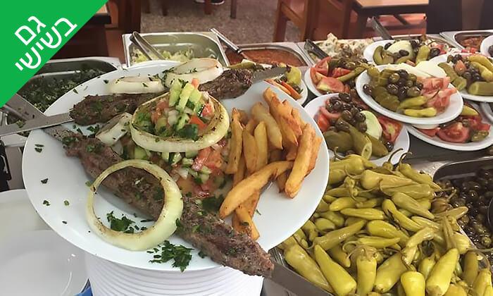 2 ארוחת שיפודים לזוג או לרביעייה במסעדת פרג', חיפה