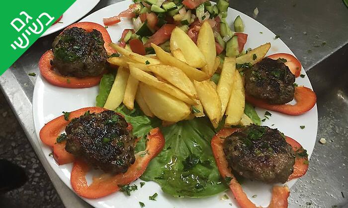 6 ארוחת שיפודים לזוג או לרביעייה במסעדת פרג', חיפה