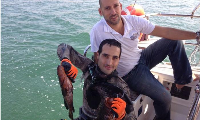 5 שייט ביאכטה ודיג לזוג או לקבוצה, מרינה הרצליה
