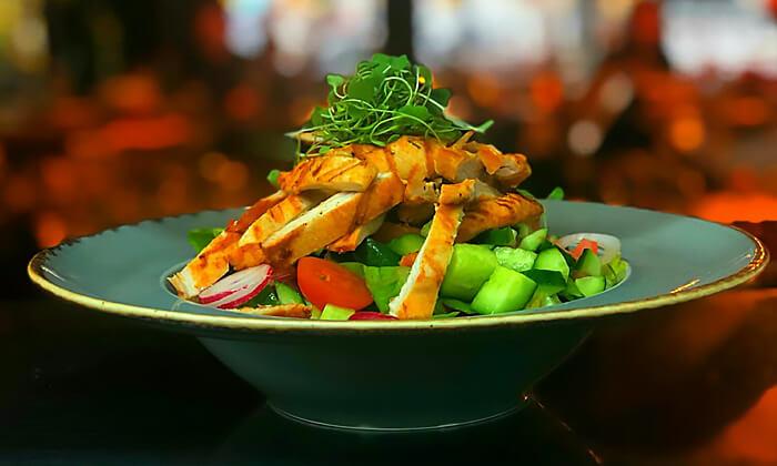 4 ארוחה זוגית כשרה במסעדת שלדון, אבא הלל רמת גן
