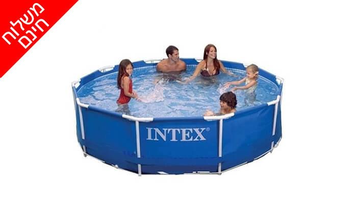 2 בריכה עגולה INTEX - אינטקס - משלוח חינם!