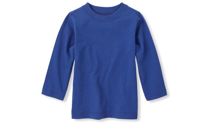 2 3 חולצות שרוול ארוך לילדים The Children's Place