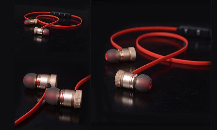 3 אוזניות ספורט עם מגנט SWZYOR