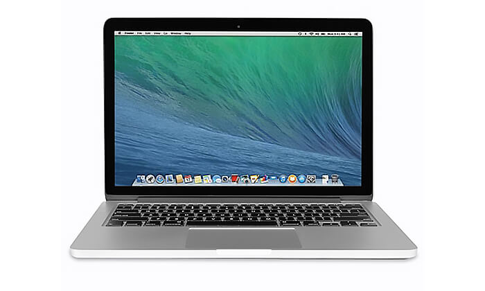 4 Apple MacBook Pro Retina עם מסך 13.3 אינץ'