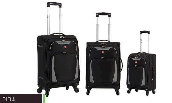 4 סט 3 מזוודות סוויס SWISS