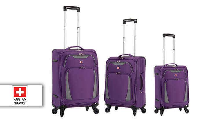 2 סט 3 מזוודות סוויס SWISS