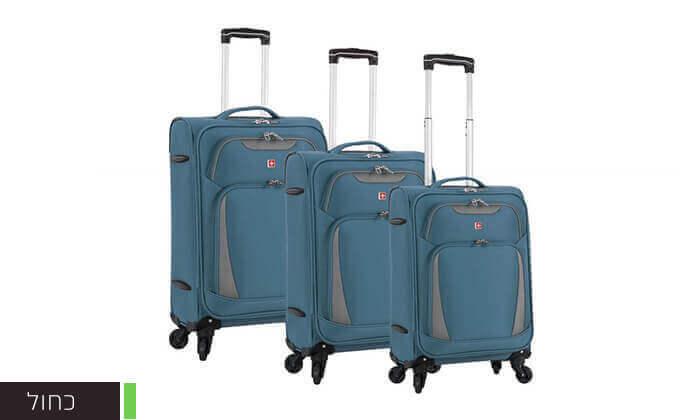 5 סט 3 מזוודות סוויס SWISS