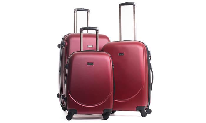 2 סט מזוודות קשיחות CalPaks