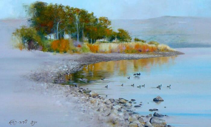 4 קורס ציור למבוגרים בסטודיו לציור בנס ציונה