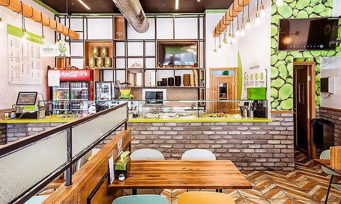 8 מנת חומוס במסעדת בית הפול הכשרה, אשדוד
