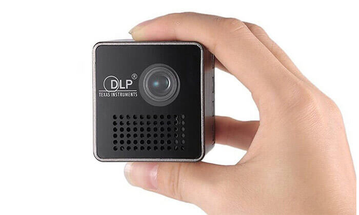 7 מקרן מולטימדיה אלחוטי נייד DLP  - משלוח חינם