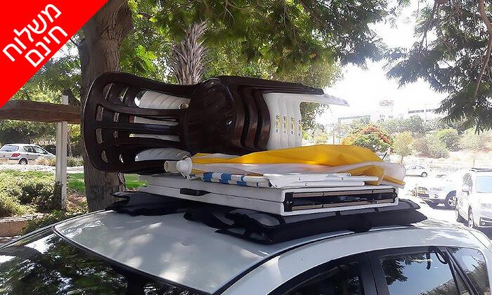 9 גגון מתקפל לגג הרכב TOP-X - משלוח חינם!