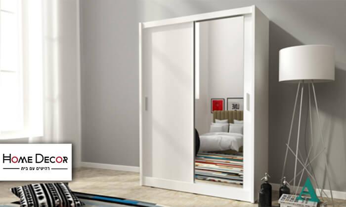 2 ארון הזזה 2 דלתות עם מראה HOME DECOR דגם מריל