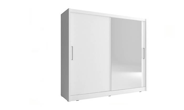 5 ארון הזזה 2 דלתות עם מראה HOME DECOR דגם מריל