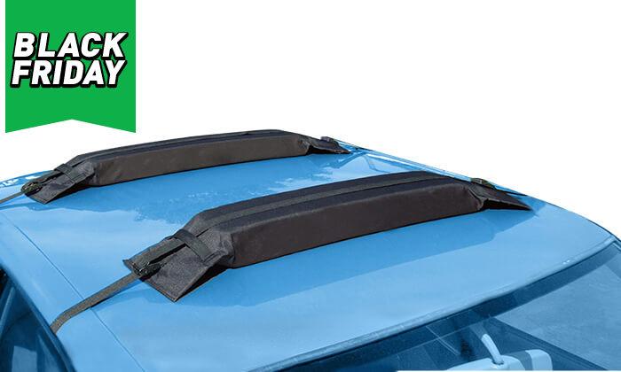 6 גגון ספוג WALTER לרכב, כולל פחית ריח