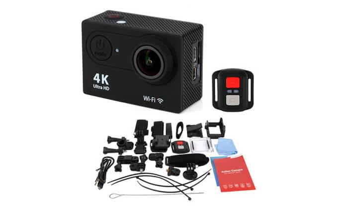 3 מצלמתאקסטריםמשולבתוידאו 4K ULTRA