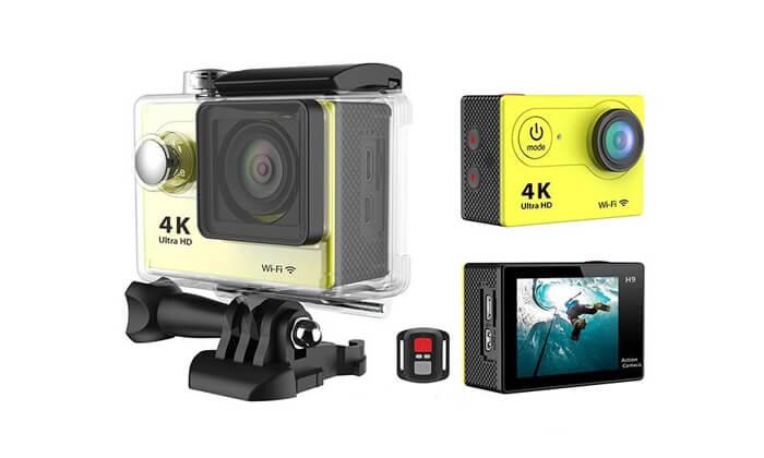 4 מצלמתאקסטריםמשולבתוידאו 4K ULTRA