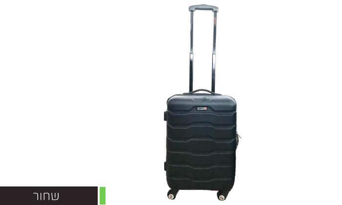 4 זוג מזוודות טרוליswiss club