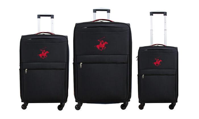 8 סט שלוש מזוודות POLO