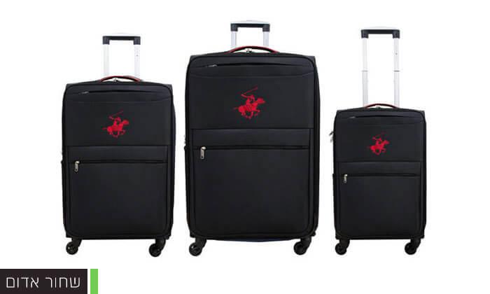 3 סט שלוש מזוודות POLO