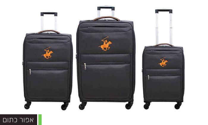 4 סט שלוש מזוודות POLO