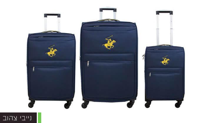 5 סט שלוש מזוודות POLO