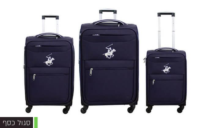 6 סט שלוש מזוודות POLO