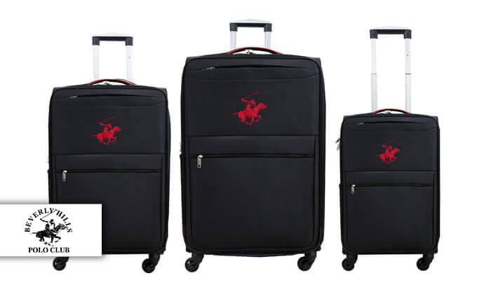 7 סט שלוש מזוודות POLO