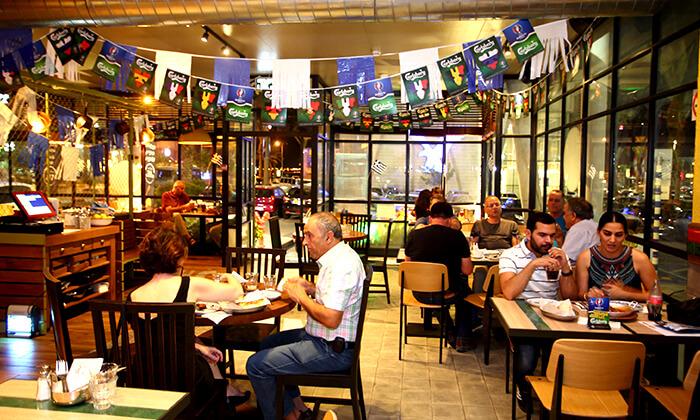 3 דיל חגיגת קיץ: מנת חומוס במסעדת אלבי, באר שבע