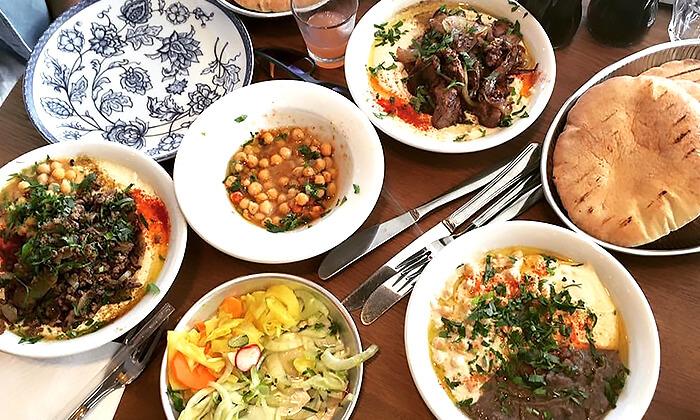 4 דיל חגיגת קיץ: מנת חומוס במסעדת אלבי, באר שבע