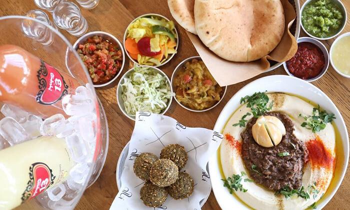 9 דיל חגיגת קיץ: מנת חומוס במסעדת אלבי, באר שבע