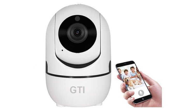 5 מצלמת IP אלחוטית ממונעת