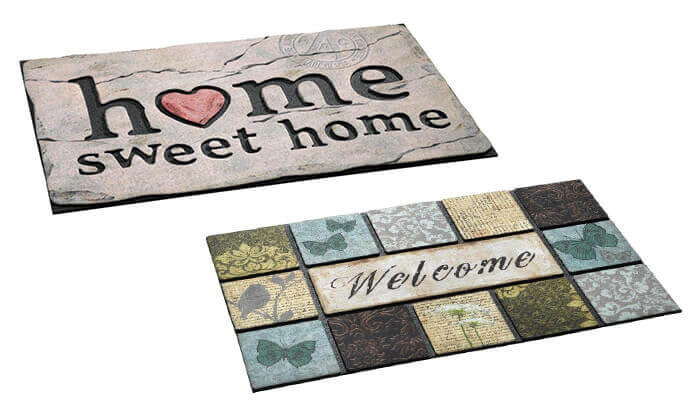 2 שטיח כניסה לבית